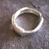 Silver Coil Wrap Ring - R52