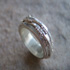 Silver Rustic Ring - R54